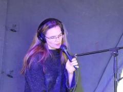 Georgina Brett live @ Comic Puffin Festival 2014